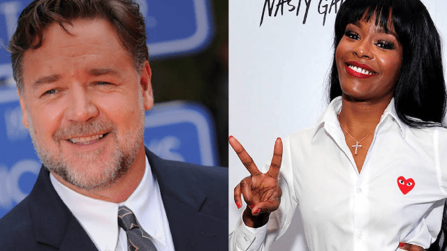 Azealia Banks claims that Russell Crowe choked her and called her the n-word.