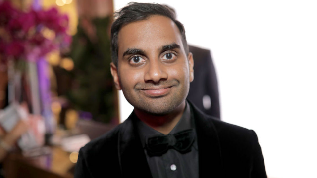 It was extremely awkward when Aziz Ansari's name was called at the SAG Awards.