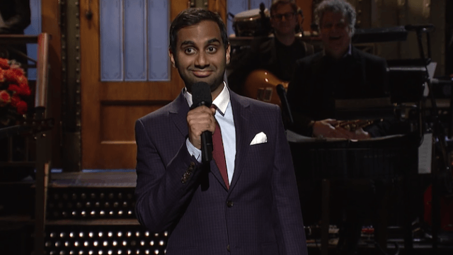 Aziz Ansari kills with 'SNL' monologue on ridiculous racism in the age of Trump.