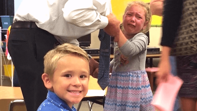 The most dramatic reactions kids have had to going to school for the first time.