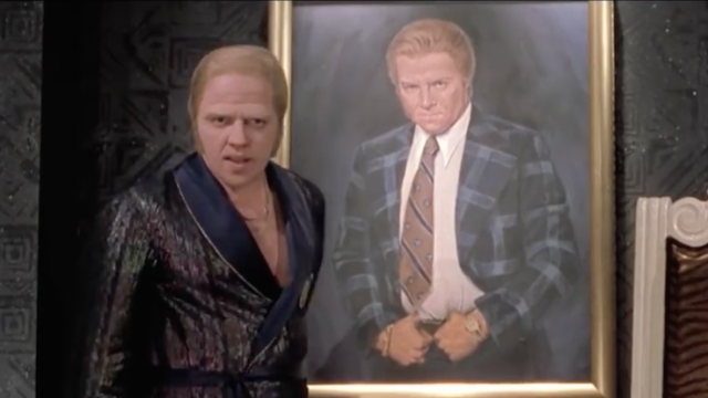 Biff from 'Back to the Future' was definitely, actually based on Donald Trump. Gag me with a hoverspoon.