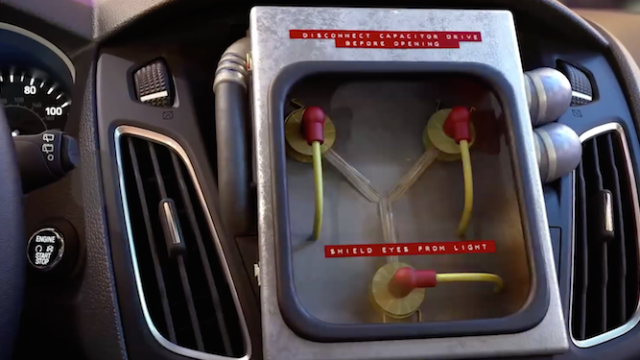 Your 'Back to the Future' Day is nothing without this $1.21M flux capacitor.