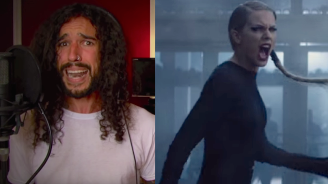 "This metal cover of Taylor Swift's ""Bad Blood"" sounds like this is what the song was meant to be."
