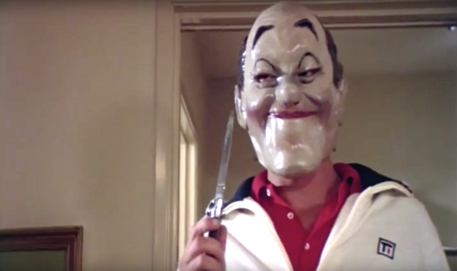 7 awesomely bad horror movies to watch before you die in a way that looks really fake.