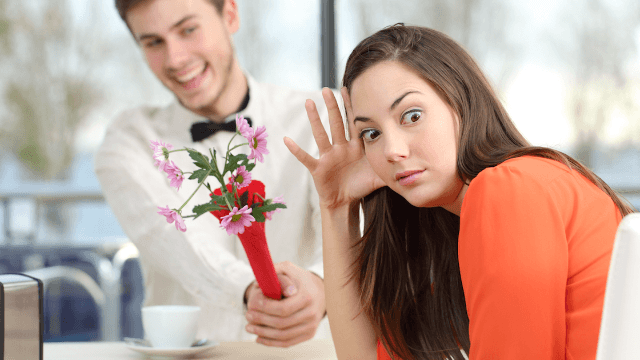 Dating awkwardness at work
