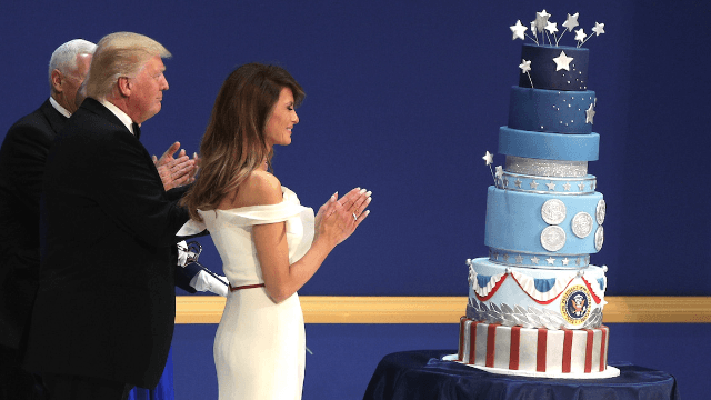 Here's how the bakery that made Trump's inauguration cake brilliantly trolled him.