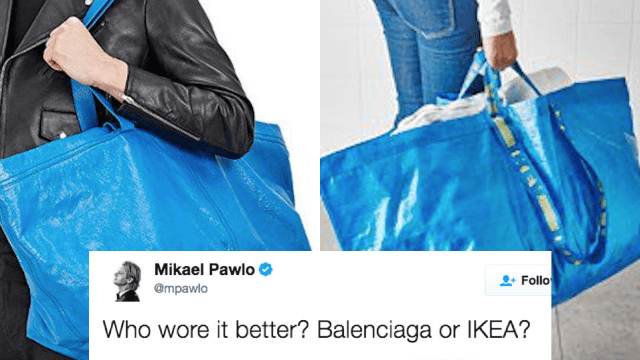 Everyone is trolling this high-end fashion designer for releasing a $2,000 'IKEA' bag.