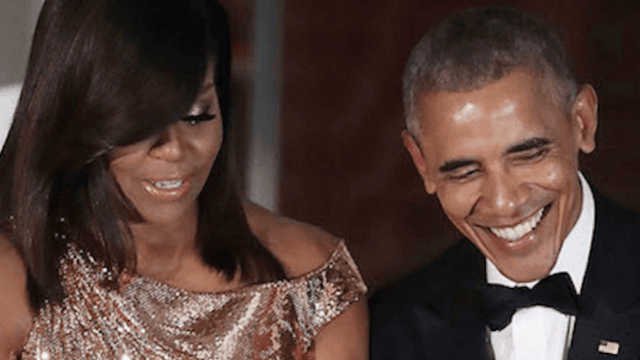 Barack Obama thanking Michelle will remind you what it's like to have a First Couple who like each other.