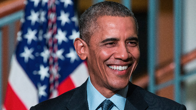 Barack Obama dropped a surprise speech this weekend to remind you what a human president is like.