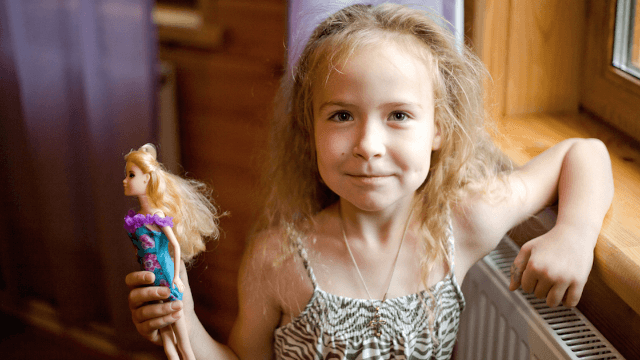 Study confirms Barbies make little girls feel bad about their bodies.