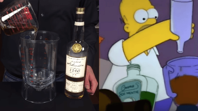 'Simpsons' fans can now make The Flaming Homer, thanks to this bartender.
