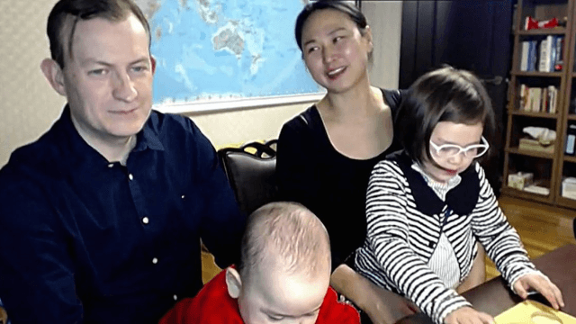 Family from viral BBC news video finally speak out: 'it was a comedy of errors.'