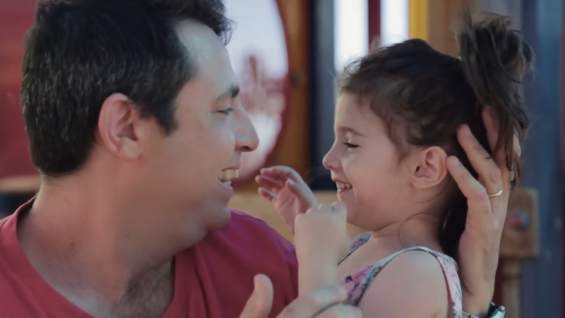 A guy shaved his beard after 14 years and it was both a cute, emotionally revealing experience and a great ad for razors.