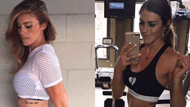 This fitness blogger's before-and-after pics prove how deceptive the scale can be.