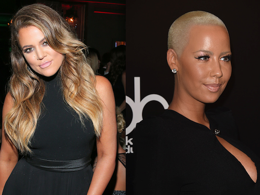 Beginner's guide to caring about a fight between Khloé Kardashian and Amber Rose.