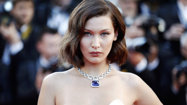 Bella Hadid responded to accusations of racism over controversial photo.