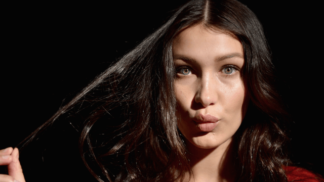 Bella Hadid doesn't look like this anymore. Well, probably.