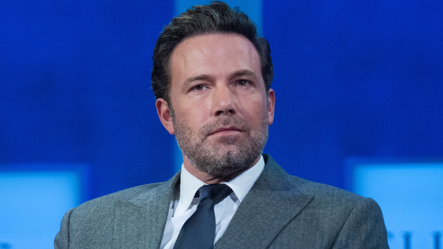 Ben Affleck pokes fun at his garish back tattoo
