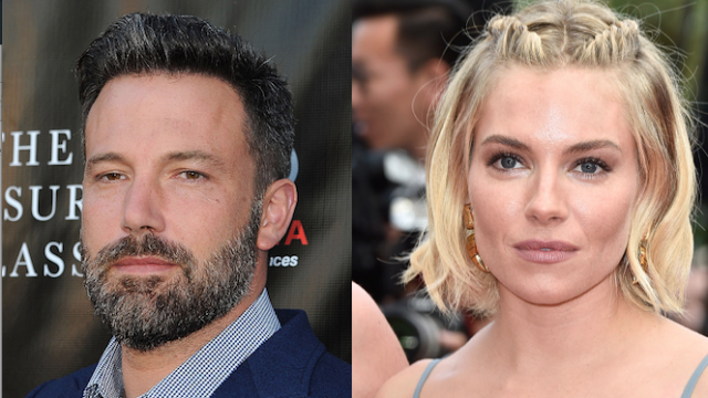 Are Ben Affleck and Sienna Miller a thing? As in, a romantic, sexy thing?