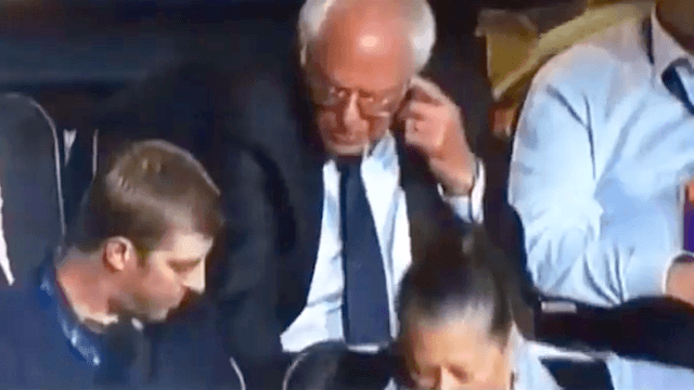 Bernie Sanders having 'Curb Your Enthusiasm' moments will never not be funny.