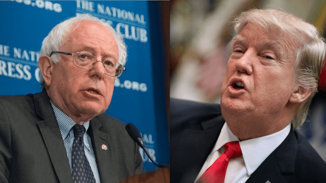 Bernie Sanders destroys Trump for talking big game about crowd size again, and everyone #FeelsTheBern.