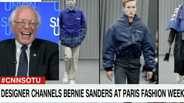 Bernie Sanders confirms what we all already knew: he is not a fashion icon.