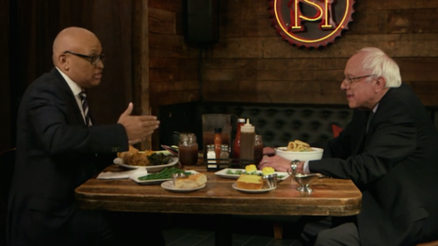 Larry Wilmore talks to Bernie Sanders about pulling a 'Weekend at Bernie's' if he becomes president.