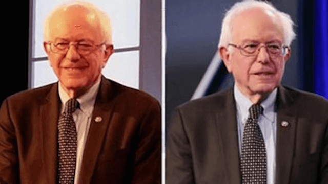 The color of Bernie Sanders's debate suit is the most partisan issue since #TheDress.