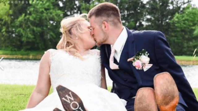 Photo of 'heartbroken' man at his best friend's wedding goes viral. Bro love is real.