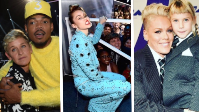 The 11 best celeb Instagrams from the 2017 VMAs.