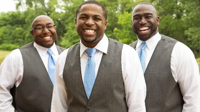 Best Man goes off on groom in group chat for not demanding suit jackets.