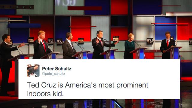 The top 32 tweets of last night's GOP debate.