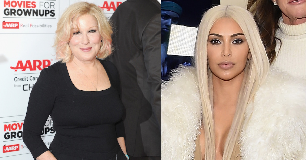 Bette Midler Sent Kim Kardashian That Nude She Requested -4475
