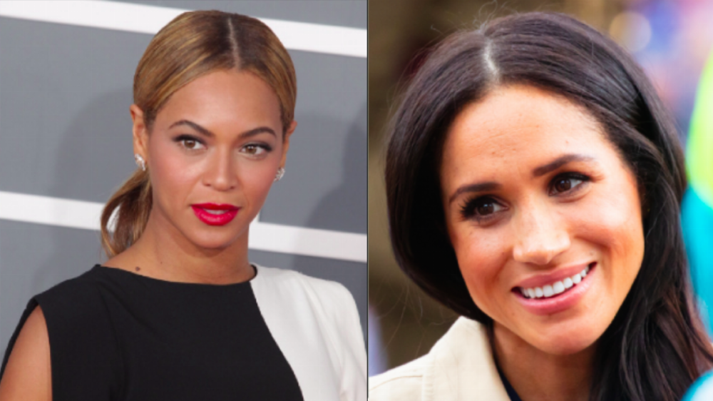 Beyoncé and Meghan Markle finally met and it was all caught on camera.