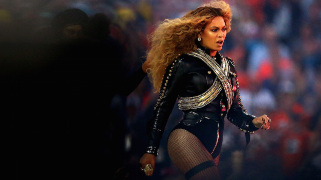 Beyoncé almost fell during the halftime show and no one noticed because she's Beyoncé.