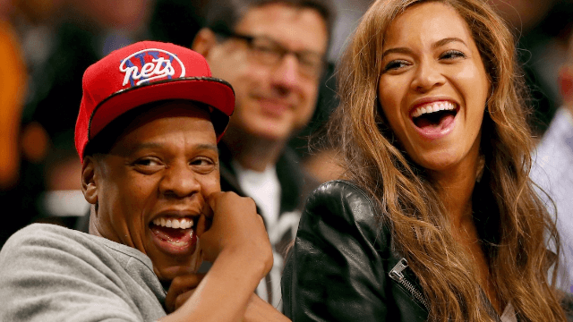Beyoncé and Jay-Z have trademarked two names. The twins' names, perhaps?