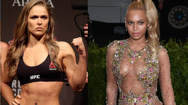 "Beyoncé used a Ronda Rousey clip to kick off a song and spread the word about ""Do Nothing Bitches."""