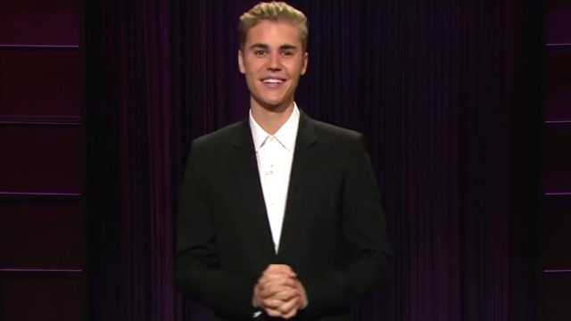 For once, Justin Bieber told jokes instead of being the joke on a late night show.