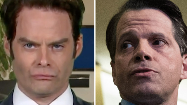 Bill Hader returns to 'SNL' for a summer Scaramucci and the impression is glorious.