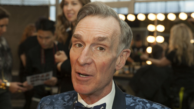 Bill Nye hilariously let everyone know he's not f*cking around about climate change. The internet is shook.