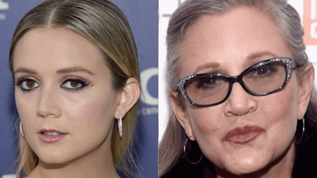 Carrie Fisher's daughter Billie Lourd got a tattoo to match her mom's.