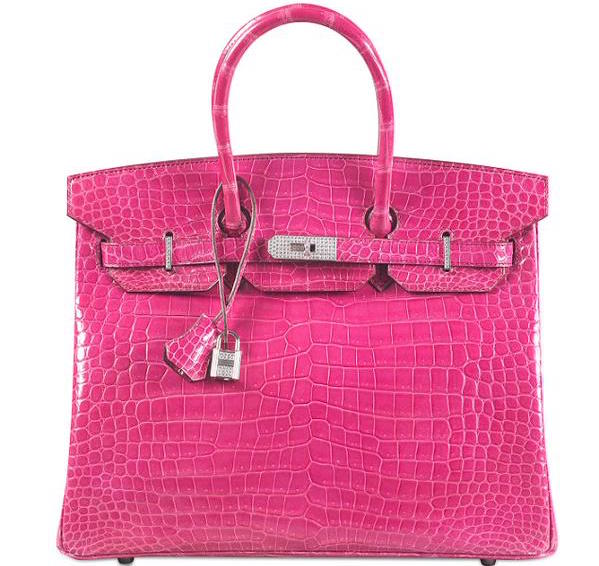 This is the most expensive handbag in the world.