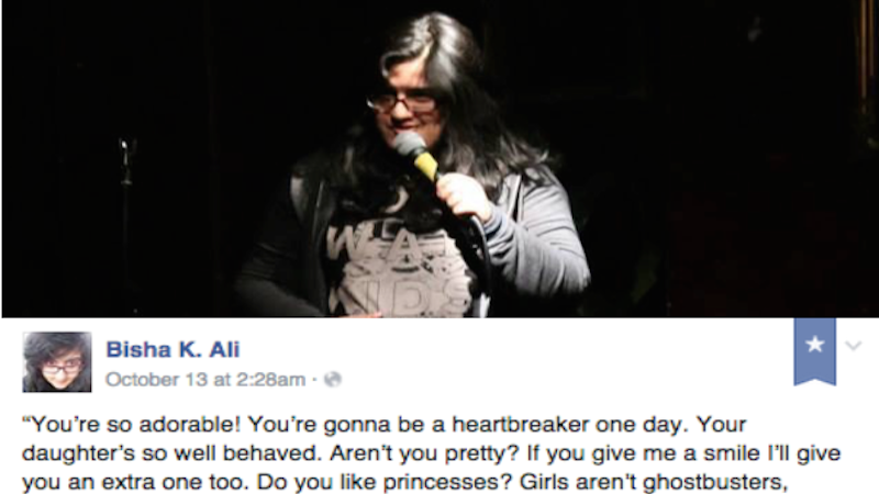 Viral Facebook post from a female comic shows the double standards women face all day, every day.