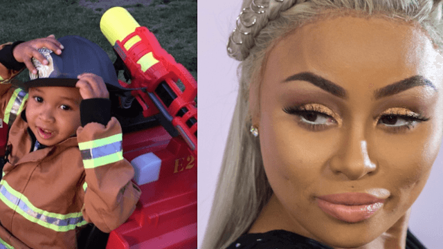 Blac Chyna's three-year-old loves her baby bump more than she does.