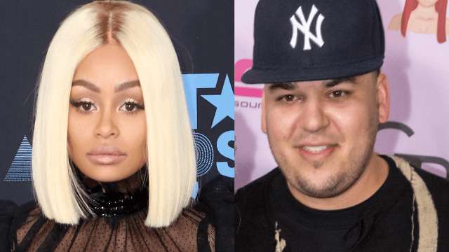 Blac Chyna says Rob Kardashian punched her, according to court documents.