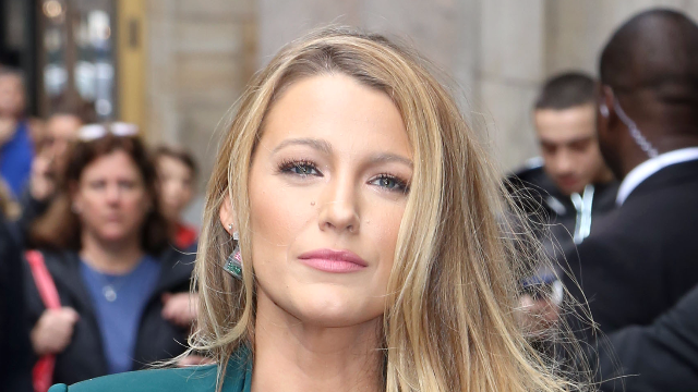 Blake Lively's brunette pixie cut makes her a totally different person.