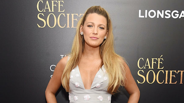Blake Lively Was Paranoid About Her Unexpectedly See-Through Top