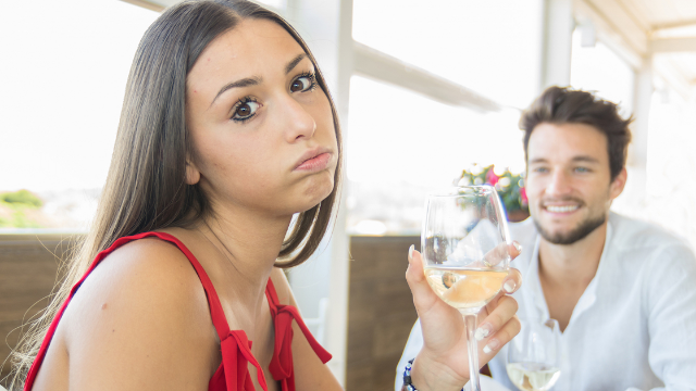 Guy and girl have hilariously different interpretations of how their blind date went.