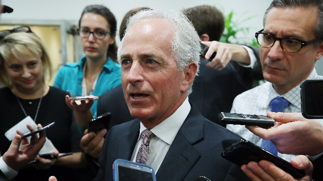 Bob Corker just fired back at Trump's insults with no mercy. Twitter is roaring.