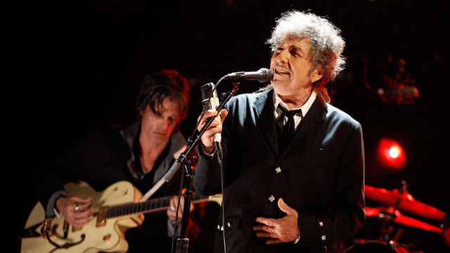 Bob Dylan finally accepts his Nobel Literature prize in the most Bob Dylan way.